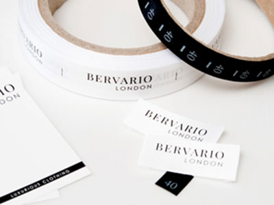 SIZE LABELS FOR CLOTHING